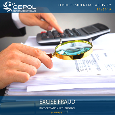 CEPOL Excise Fraud course