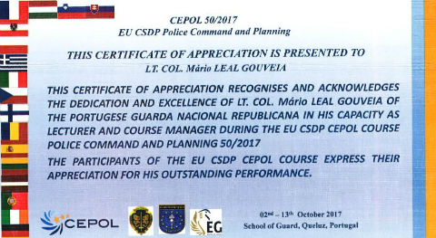 Certificate Leval Gouveia