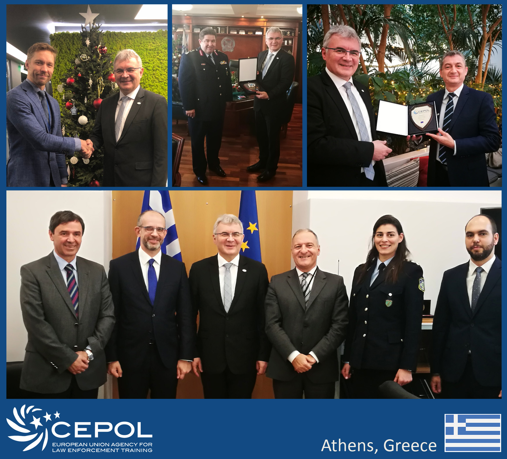 CEPOL visiting partners in Greece