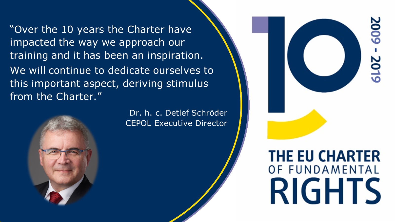 charter, 10 years, anniversary, fundamental rights, CEPOL ED