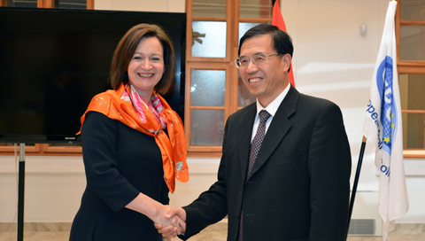 Chinese delegation