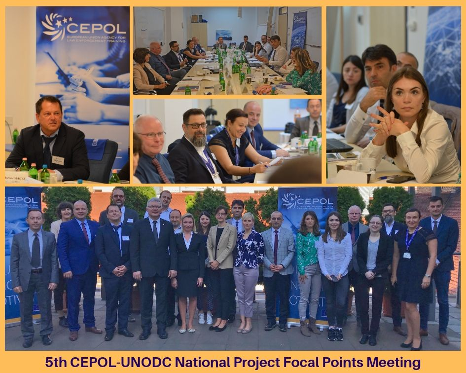 5th CEPOL-UNODC National Project Focal Points Meeting
