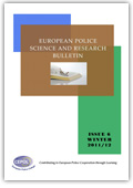 European Police Science and Research Bulletin: Issue 6 - Winter 2011/2012