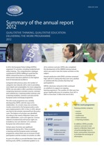 Summary of the Annual Report 2012