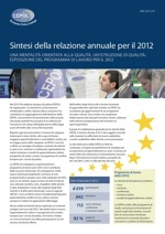 Summary of the Annual Report 2012 - IT
