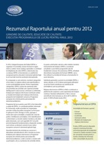 Summary of the Annual Report 2012 - RO