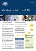 Summary of the Annual Report 2012 - SK