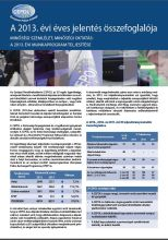 Summary of the Annual Report 2013 - HU