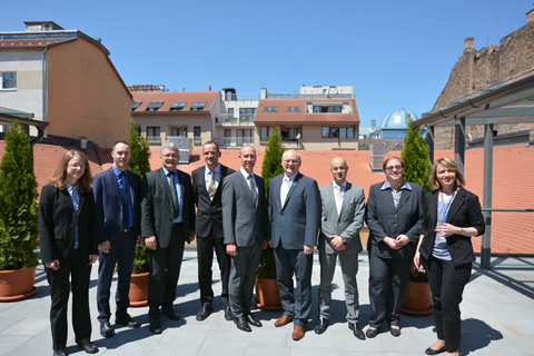 Visit of the incoming Luxembourgish EU Presidency