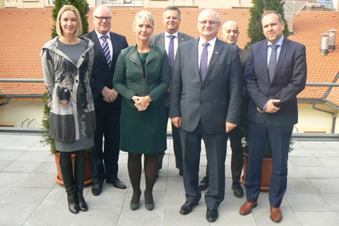 Visit of the incoming Netherlands Presidency of the European Union