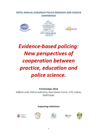 Programme of the 2015 CEPOL European Police Research and Science Conference