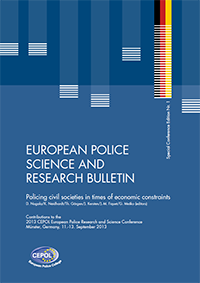European Police Science and Research Bulletin - Special Conference Edition Nr. 1