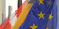 EU flags