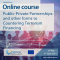 CEPOL Online Course 86/2021: Public-private Partnerships and Other Forms to Counter-terrorist Financing