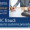 Webinar 9/2018 MTIC fraud - Abuses to customs procedures