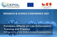 CEPOL Online Research & Science Conference 2021 – Call for papers