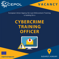 CEPOL is looking for a Cybercrime Training Officer