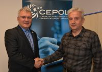 Vice President of Turkish National Police Academy Ufuk Ayhan and CEPOL's Executive Director Detlef Schröder