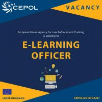 CEPOL Join our team as E-Learning officer