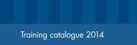 Training catalogue 2014