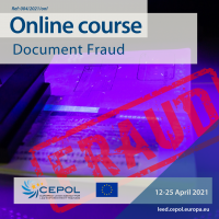 Online Course 04/2021: Document Fraud