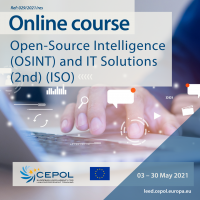 Online Course 29/2021: Open-Source Intelligence (OSINT) and IT Solutions