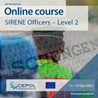 Online Course 52/2021: SIRENE Officers – Level 2