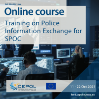 54/2021: Training on Police Information Exchange for SPOC