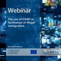 Webinar 13/2021: The use of OSINT in facilitation of illegal immigration