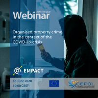 CEPOL Webinar AdHoc 19/2020: Organised property crime in the context of the COVID-19 crisis