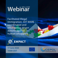 Webinar AdHoc 12/2020: Facilitated Illegal Immigration: JOT MARE - coordinated and intelligence-driven actions against human smugglers