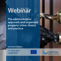 Webinar 16/2021: The administrative approach and organised property crime - theory and practice