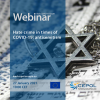 Webinar COVID 17/2020: Hate crime in times of COVID-19: antisemitism