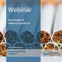 Webinar 19/2020: Illegal trade of cigarettes