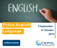 Online Course 11/2019: Police English Language Online Course
