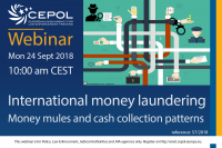 Webinar 57/2018 International money laundering - Money Mules and Cash Collection Patterns