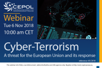 Webinar 65/2018 Cyber – Terrorism: A threat for the European Union and its response