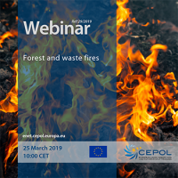 CEPOL Webinar 29/2019 'Forest and waste fires'