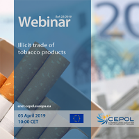 Webinar 22/2019 'Illicit trade of tobacco products'