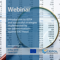 Webinar 24/2019 'Introduction to IOTA and successful strategies implemented by tax administrations against VAT fraud'