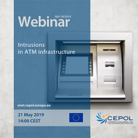 Webinar 10/2019 'Intrusions in ATM infrastructure'