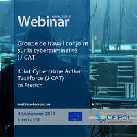 AdHoc Webinar 2/2019 'Joint Cybercrime Action Taskforce' in French