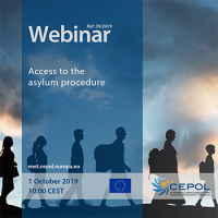 CEPOL Webinar: Access to the asylum procedure