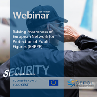 CEPOL Webinar: Raising Awareness of European Network for Protection of Public Figures (ENPPF)