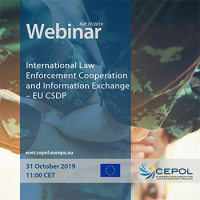 77/2019 - International Law Enforcement Cooperation and Information Exchange – EU CSDP