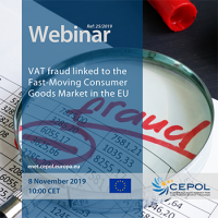 Webinar 25/2019 -  VAT fraud linked to the Fast-Moving Consumer Goods Market in the EU