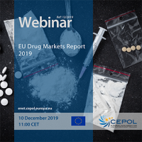 Webinar 12/2019 - 'EU Drug Markets Report 2019'