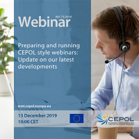 Webinar - 75/2018 Preparing and running CEPOL style webinars: Update on our latest developments