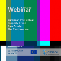 Webinar AdHoc 01/2020 - European Intellectual Property Crime - Case Study: The Cardpro case