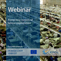 CEPOL Webinar 64/2020 - Protecting victims of labour exploitation